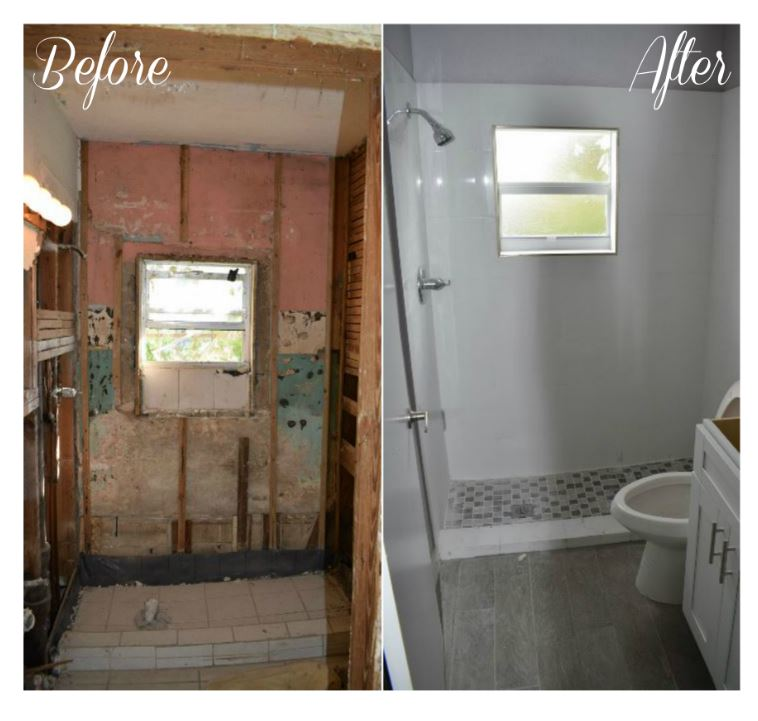 1185 Before And Sfter Bath